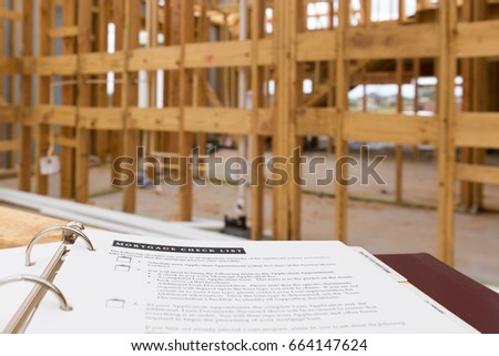 Construction frame stock images royalty free images for Mortgage for house under construction