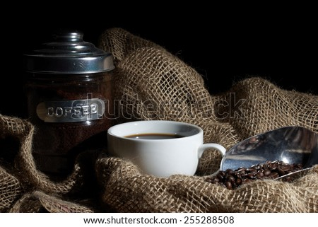 A nice aromatic start to the mornings brew. - stock photo