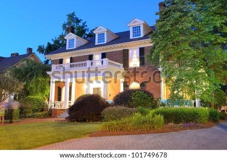 a nice house - stock photo
