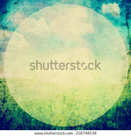 a nice textured paper background with an overlay toned with a vintage retro instagram filter effect app or action - stock photo