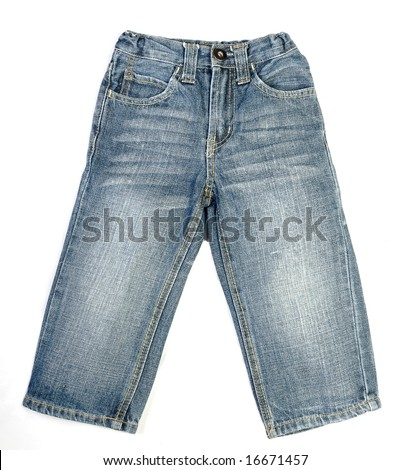 A pair of children's jeans
