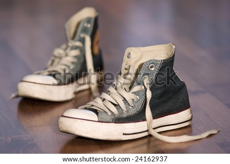 A pair of shoes - stock photo