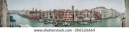 A panorama of Venice, Italy