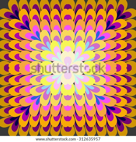 A pattern abstract colorful background