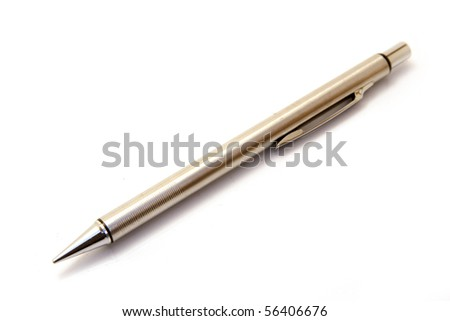 a pen isolated on white