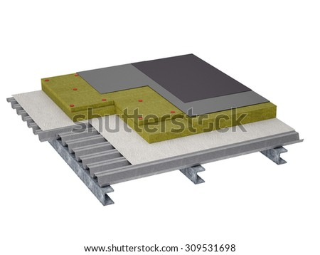 Flat Roof House Stock Images Royalty Free Images