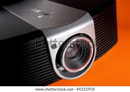 a photo of home cinema projector