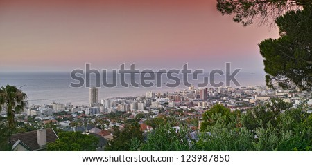 A photo of Sea Point, Cape Town - stock photo