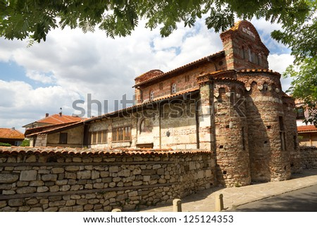 A picture of a church in Nessebar, Bulgaria
