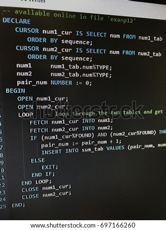 stock-photo-a-piece-of-pl-sql-codes-on-p