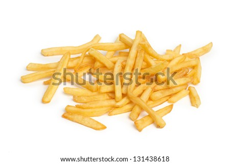 a pile of appetizing french fries