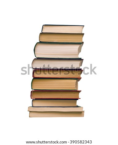 A pile of books