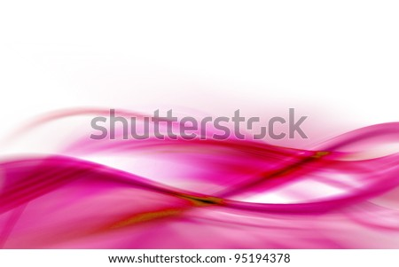 A pink abstract wave background - stock photo