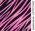 A pink and purple zebra striped background. Seamlessly repeatable. Raster. - stock photo