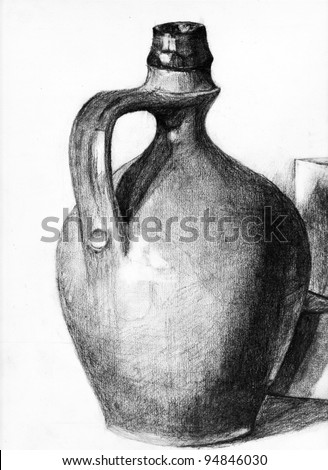 A Pitcher - stock photo