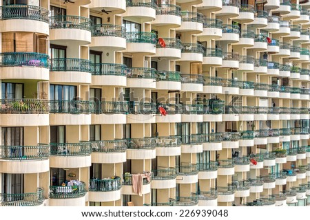 A place of residence in Thailand - stock photo