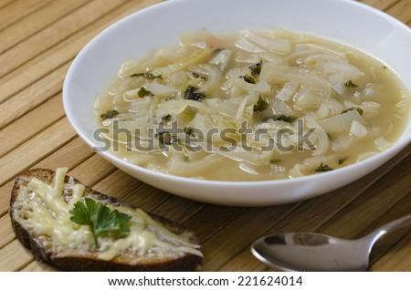Французская диета основанная на луковом супе
