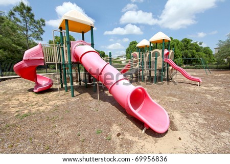 A Playground in a Community in Florida