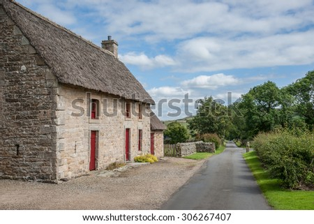 English Stone Cottage stone cottage stock images, royalty-free images & vectors