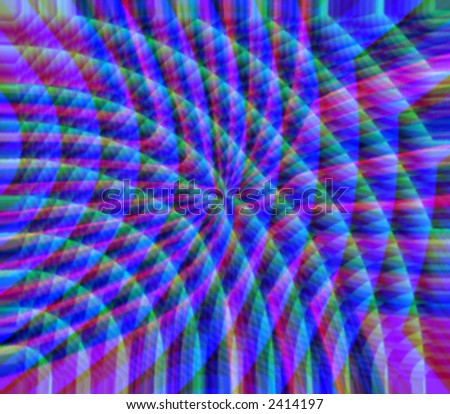 "A rainbow light refraction -makes a great background for that ""high-tech"" look. - stock photo"