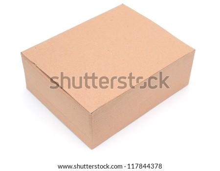 A recycling carton box - stock photo