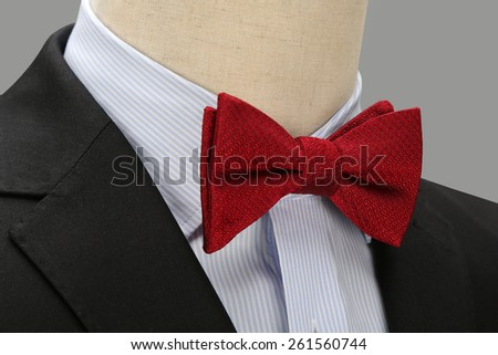 A red Bow tie
