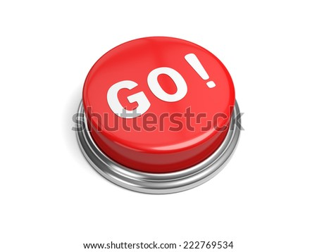 A red button with the word go on it