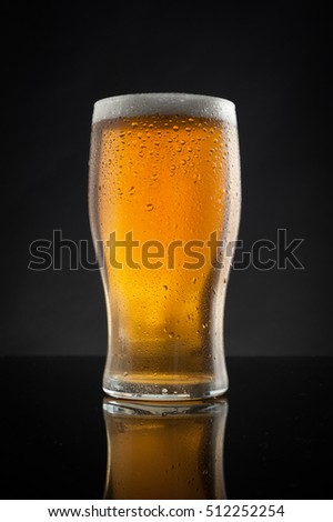 A refreshing pint of beer