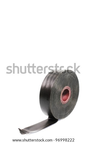 a roll of duct tape - stock photo