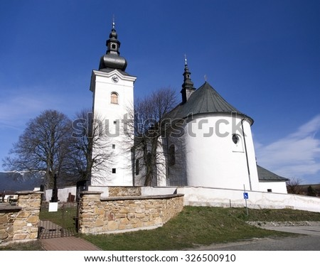 A Roman-Catholic church of St. George in Bobrovec village that is one of the oldest located in Liptov region, Slovakia. This church is declared as national cultural heritage of Slovak republic.