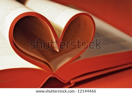 A Romance Novel - stock photo