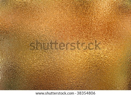 A rough metal reflecting an environment - stock photo