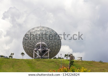 A satellite communications - stock photo