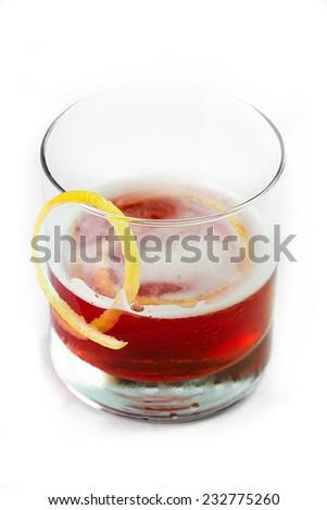 A sazerac cocktail, New Orleans favorite - stock photo