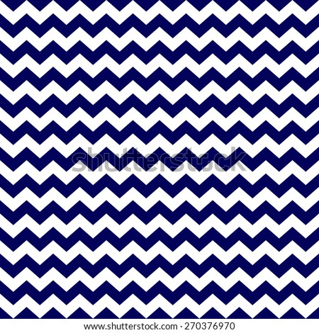 A Seamless Chevron Zigzag Striped Background Pattern In Navy Blue And White