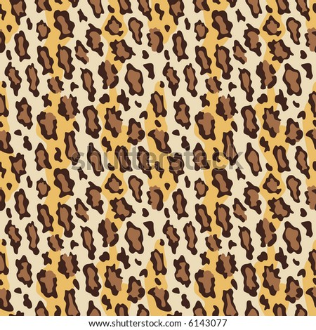 A seamless leopard fur pattern in current fashion colors. Vector format also available.