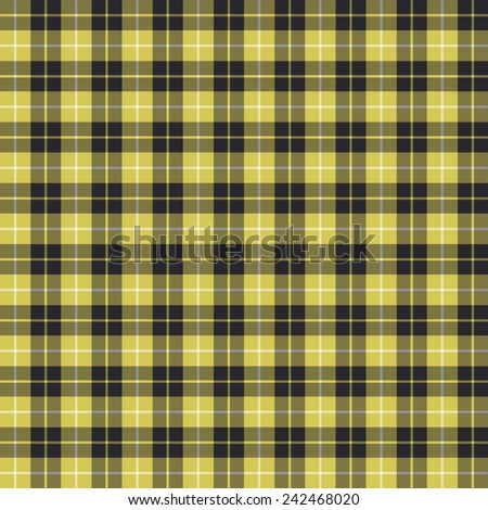 A seamless patterned tile of the clan Barclay tartan. - stock photo