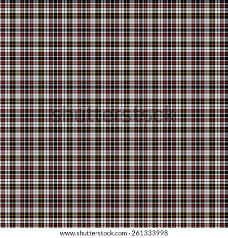 A seamless patterned tile of the clan Little, Arisaid tartan. - stock photo