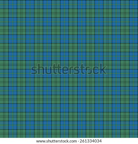 A seamless patterned tile of the clan Lockhart tartan. - stock photo