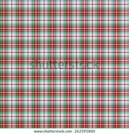 A seamless patterned tile of the clan MacBean Dress tartan. - stock photo