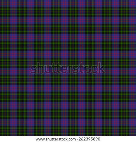 A seamless patterned tile of the clan MacCallum of Berwick tartan. - stock photo