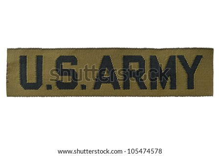 A section of American Desert Battle Dress Uniform (DBDU) material, also known as Chocolate-Chip, Cookie Dough, or Six-Color Desert Pattern Camouflage. - stock photo