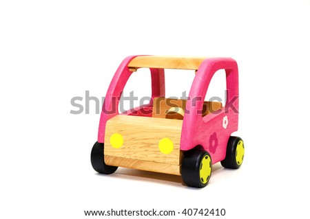 A series, life of wooden toys, the car for dolls