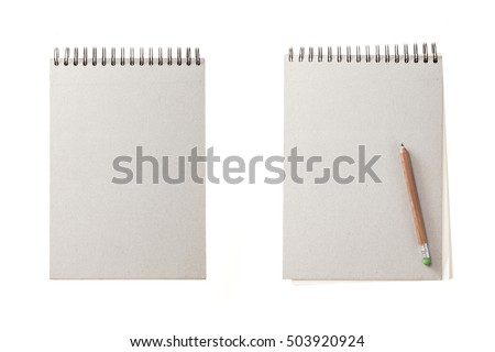 A set(group) of white(ivory) note spread with autumn leaf(leaves) for fall isolated white.
