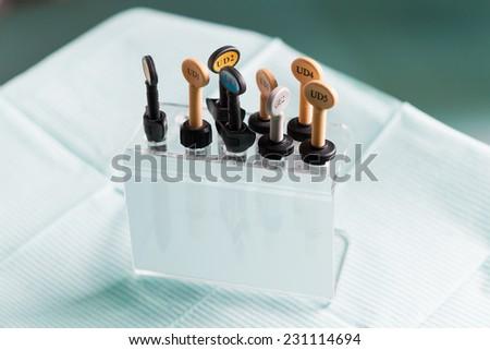 A set of dental samples - stock photo