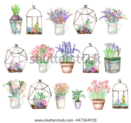 Flower Jar Stock Images Royalty Free Images Vectors