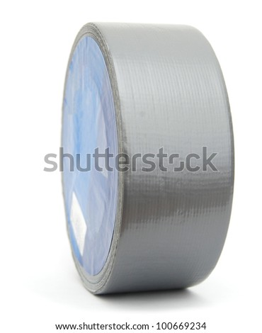 A shipping tape roll - stock photo