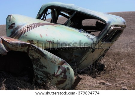 A shot of the past - stock photo