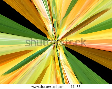 A simple abstract color pattern background.