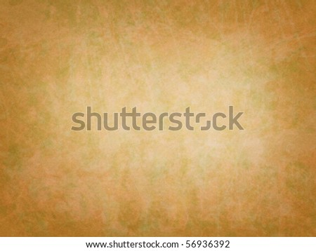 A simple but colorful paper texture with brown, green, and orange. - stock photo